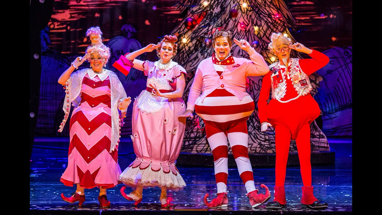 How The Grinch Stole Christmas Musical.Grinch Who Stole Christmas The Musical Dr Seuss Classic Chicago Theater November 2018