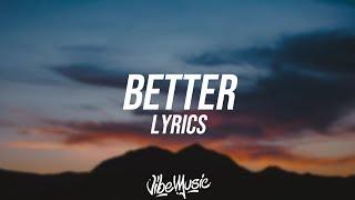 Chantel Jeffries - Better (Lyrics / Lyric Video) ft. Vory & BlocBoy JB