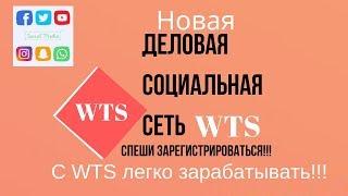 #WTS Business Social Media - Новая деловая социальная сеть. Первая презентация.