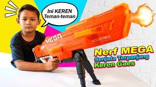 Praya Bermain Tembakan Nerf Mega Accustrike