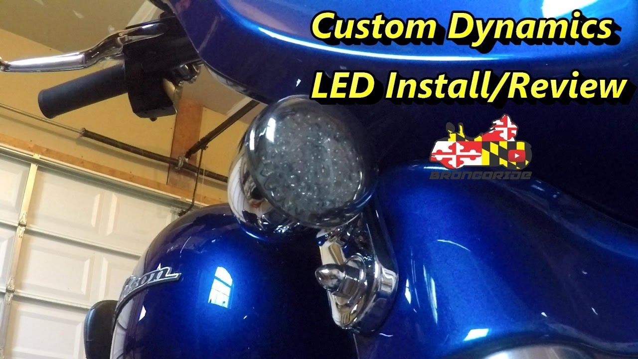 Custom Dynamics Turn Signal Wiring Diagram Free Download Flasher Harley Led Bullet Style Inserts On A Grote