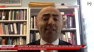 This Week in Turkey (112): with Soner Çağaptay on debates within AKP after March 31 local elections