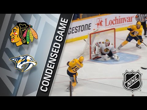 01/30/18 Condensed Game: Blackhawks @ Predators