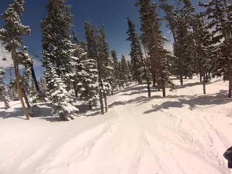 Great Spring Conditions at Eldora Mountain Resort, Colorado