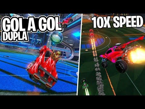 GOL A GOL EM DUPLA + SUPER VELOCIDADE, BOOST 10X, DEU BOM? - Rocket League thumbnail