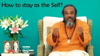🕉😀 How to Stay as the Self? JUST FOCUS ON THE ROAD! Mooji Funny