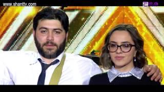 X Factor4 Armenia 4 Chair Challenge Garik Groups THE STEPS BAND Tamara Khublaryan 05 02 2017