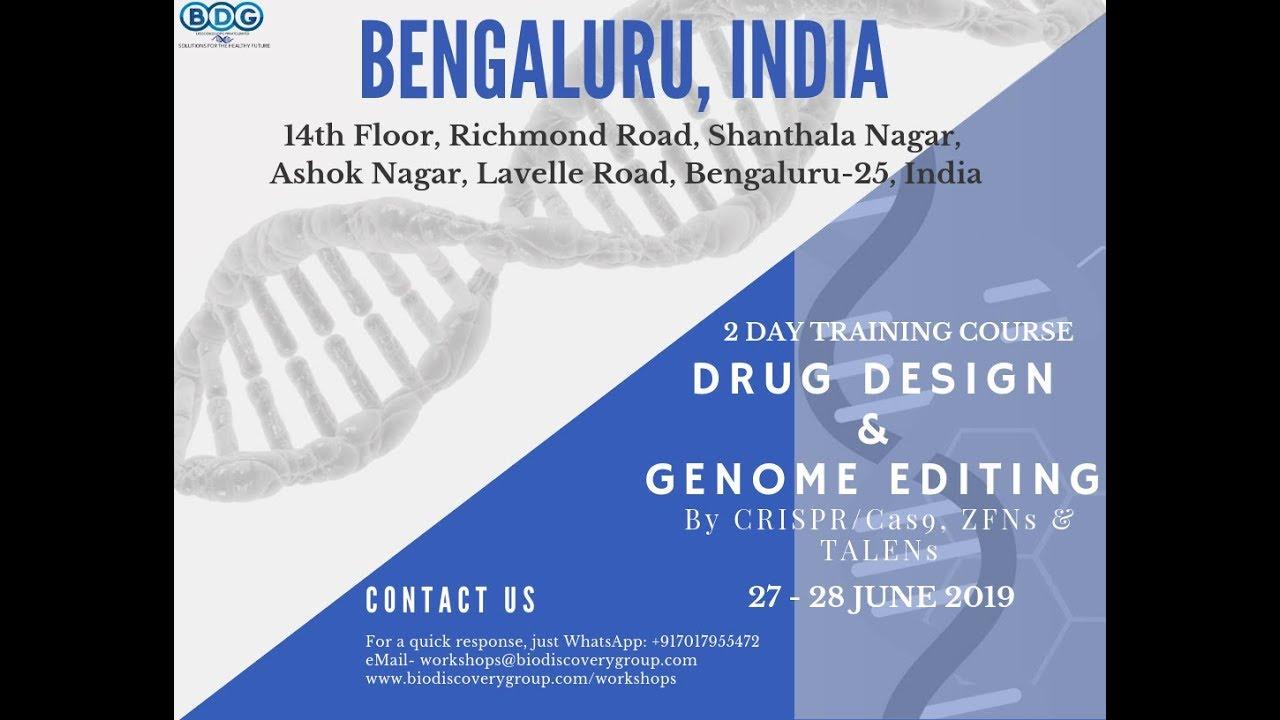 crispr training in bangalore, training in genome editing in