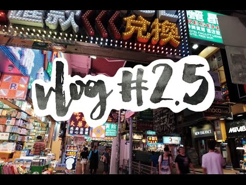 Hongkong City and Night Market | Hannah Kathleen | Vlog #2.5