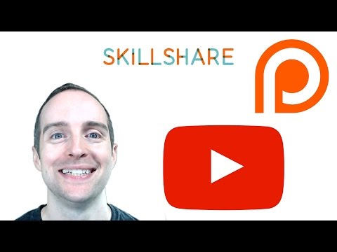 BEST ONLINE TEACHING BUSINESS SYSTEM FOR SKILLSHARE, YOUTUBE, AND PATREON IN 2017!