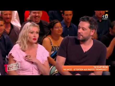 OUPS ! En direct sur C8 Tatiana Laurens dévoile un sein par accident !