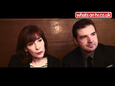 with Downton Abbey's Brendan Coyle and Phyllis Logan