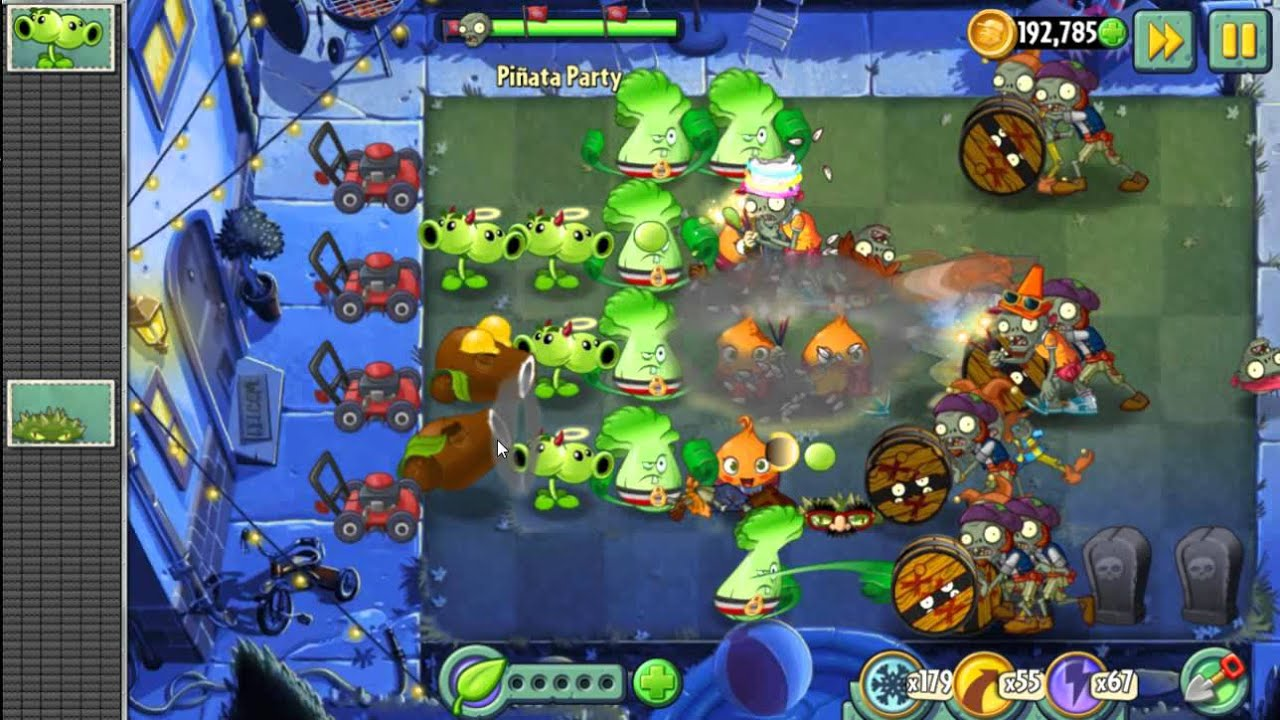 how to play pinata party game pvz