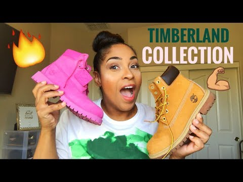 MY TIMBERLAND COLLECTION!