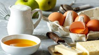 4 Рецепта выпечки из яблок для всей семьи - нежные, любимые и простые! Рецепты от Всегда Вкусно!