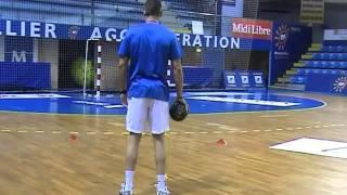 Balonmano: Entrenamiento integrado de primeras líneas, con Nikola Karabatic