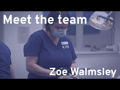 Meet the Team - Zoe Walmsley