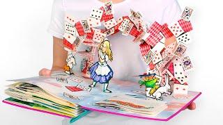 📚Alice's Adventures In Wonderland In 10 Minutes: A Pop-Up Book