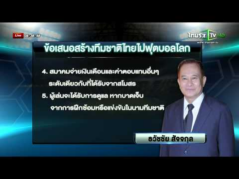 บิ๊กหอยแนะวรวีร์สร้างทีมชาติไปบอลโลก  | 17-07-58 | เช้าข่าวชัดโซเชียล | ThairathTV