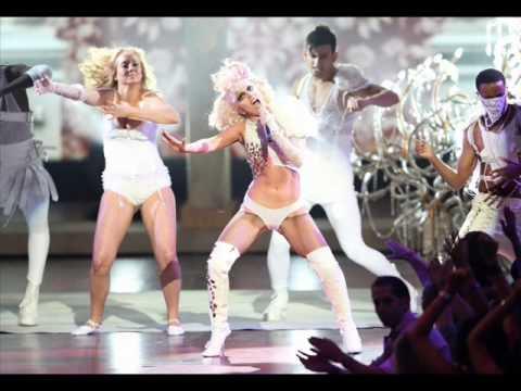 Lady Gaga at the 2009 MTV Video Music Awards