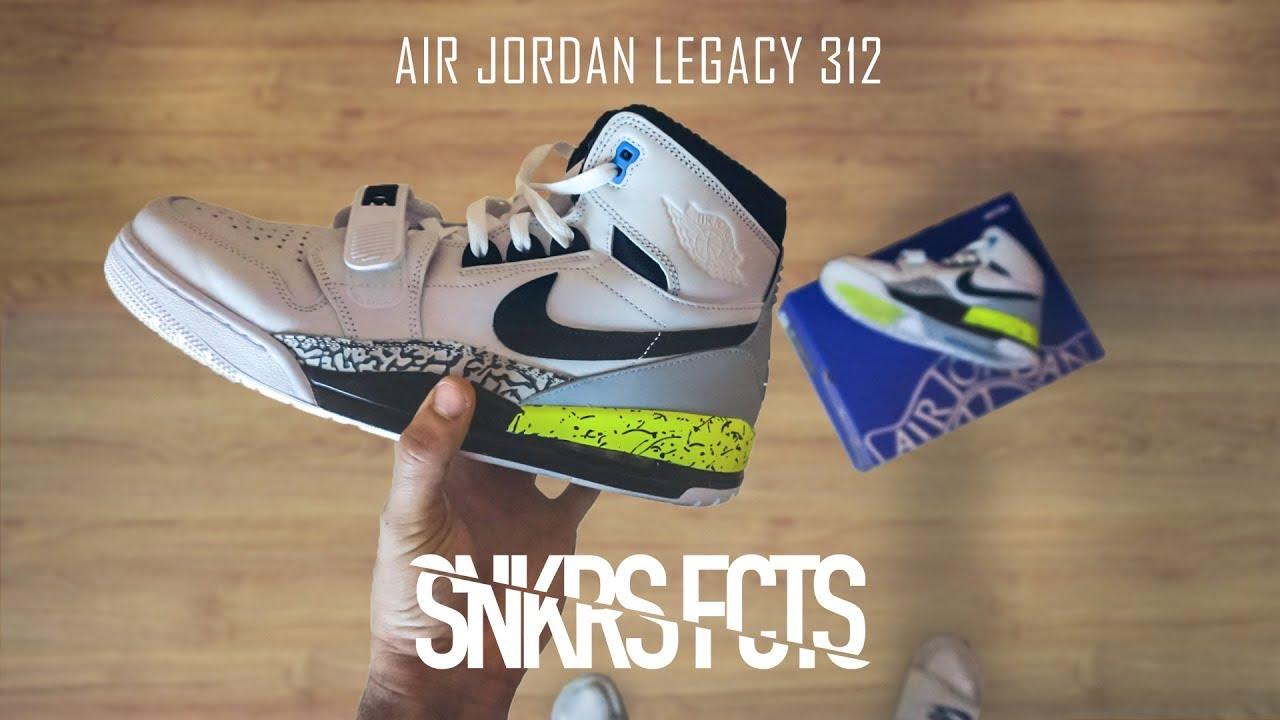 944e4aac0227 Sneakers Facts  REVIEW - Air Jordan Legacy 312