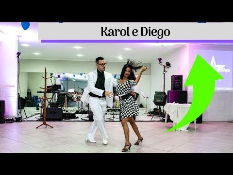 Dança dos Alunos Ed Renan França - Karol e Diego