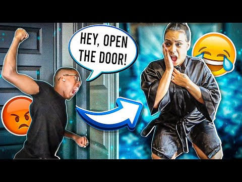 cheating-with-the-door-locked-prank-on-husband!!