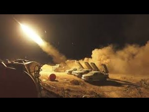 Iranian forces in Syria Attack Israel with rockets and artillery in the annexed Golan Heights region