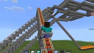 Minecraft PE Tren yolu !