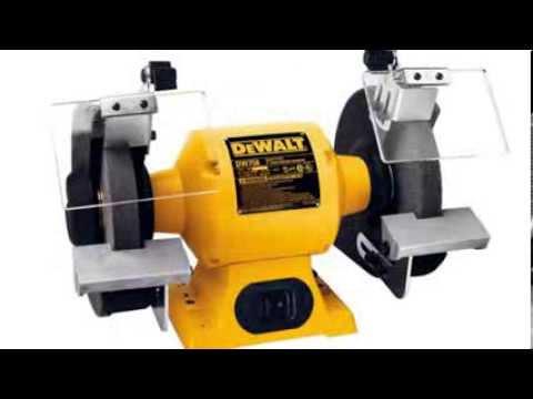 Dewalt Dw758 8 Inch Bench Grinder Youtube