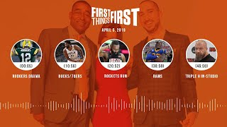 First Things First audio podcast (4.5.19)Cris Carter, Nick Wright, Jenna Wolfe   FIRST THINGS FIRST
