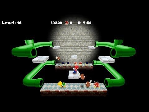 Super Mario Clash 3D Remake