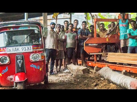 Sri Lanka sawmiller has 4 Wood-Mizer sawmills & adding 2 more - Wood