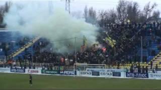 Файер-шоу Ростов-Амкар-1:1. Фанаты футбола