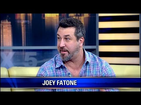 Joey Fatone hosts 'Rewrapped' - YouTube