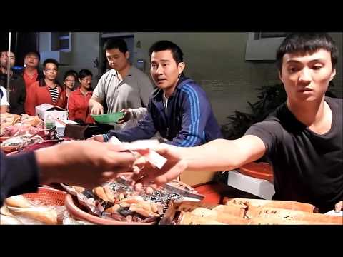Taiwan-seafood auction -changhua Shetou guava nightmarket ep.2