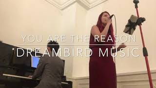 You Are The Reason Dreambird Music Singapore Live Band for weddings and corporate events