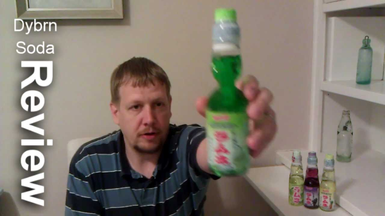 Codd Bottle History and Ramune Melon Soda Review