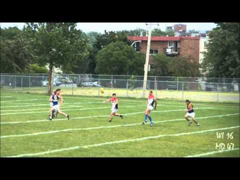 West Island Eagles v Montreal Demons (AFL Quebec Round 4, 2013)