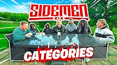 HOW MANY YOUTUBERS CAN YOU NAME? - SIDEMEN CATEGORIES