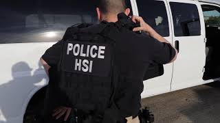 ICE executes federal criminal search warrant in North Texas ALLEN, TX, UNITED STATES 04.03.2019