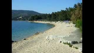 Strand beim Camp Kovacine in Cres/Melin