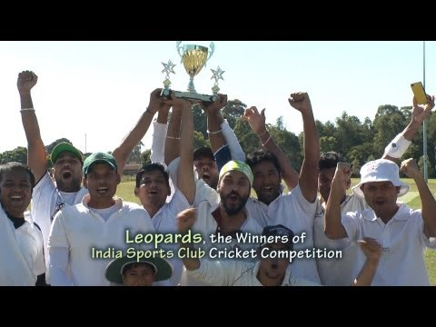 India Sports Club Cricket Final Highlights on OzIndian TV Sh