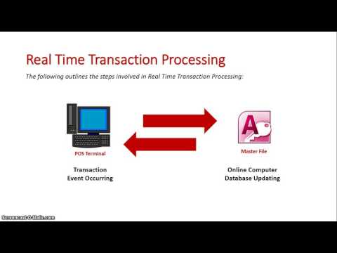 Real Time Transaction Processing