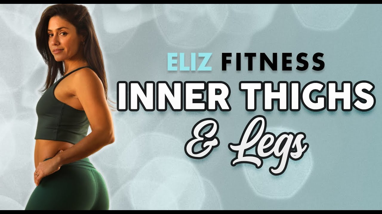Inner Thigh & Leg Sculpt ♥ 15 Min Workout, Eliz Fitness, No Equipment- No Excuses! Butt Lift &am