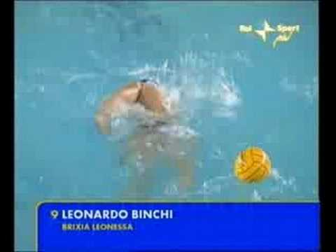 Leonardo Binchi Beautiful goal water polo