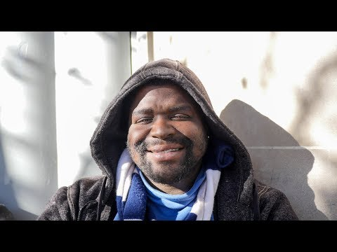 Homeless Man Shares About Growing Up In Foster Care And Sings Us A Song At The End