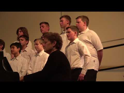 South Milwaukee Middle School  Choir Concert May 17, 2018