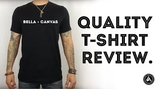 Premium Quality Blank T Shirt For Printing Review - Bella Canvas 3001