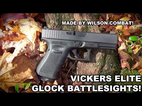 Vickers Elite Battlesight for Glock | Black Serrated-https